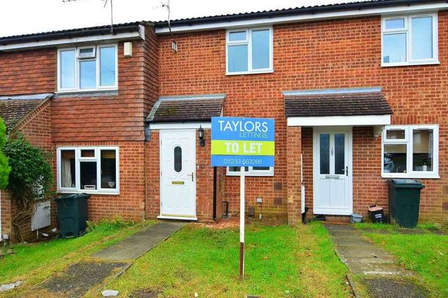 Thumbnail Terraced house to rent in Woodlea, Ashford