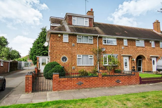 Thumbnail End terrace house for sale in Pebworth Grove, Kitts Green, Birmingham