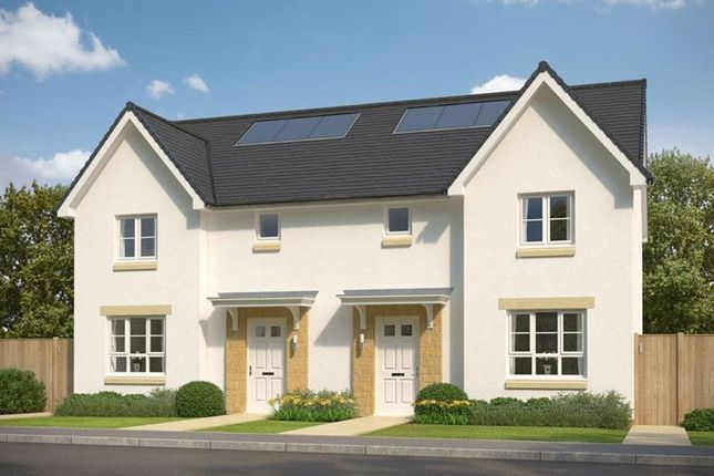"""Thumbnail Semi-detached house for sale in """"Craigend"""" at Huntingtowerfield, Perth"""