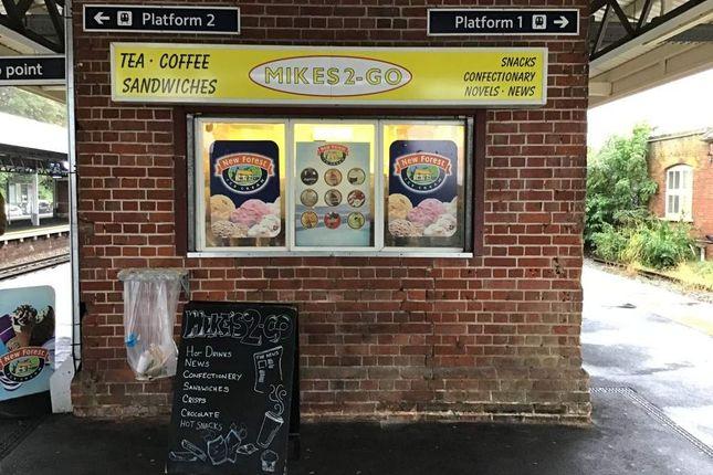 Thumbnail Retail premises for sale in Station Approach, Brockenhurst