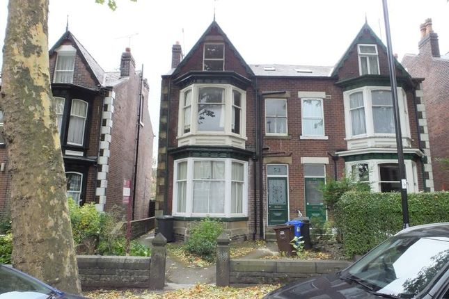 Thumbnail Flat to rent in 53A Carter Knowle Road, Sheffield