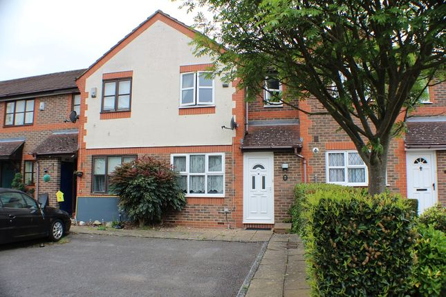Thumbnail Terraced house to rent in Forbes Way, Ruislip