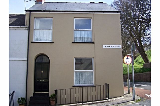 Thumbnail End terrace house for sale in Church Street, Pembroke Dock