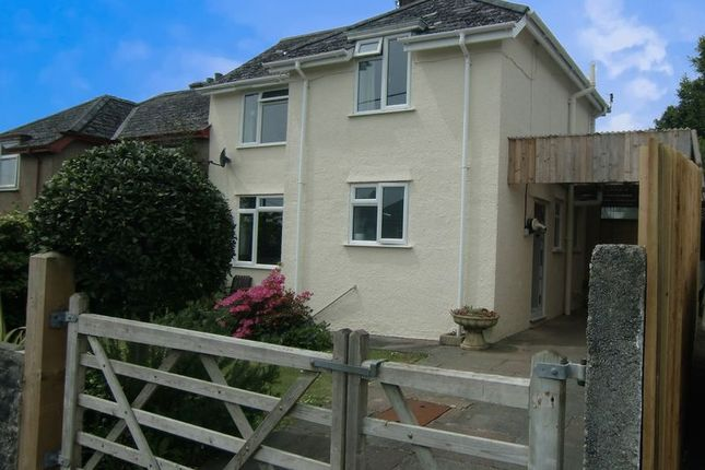 Thumbnail Semi-detached house for sale in Uplands, Tavistock