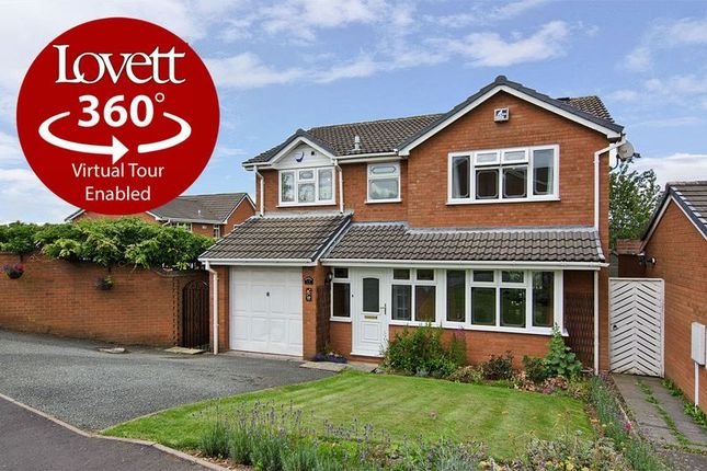 Thumbnail Detached house for sale in Westwoods Hollow, Hunslet Estate, Burntwood