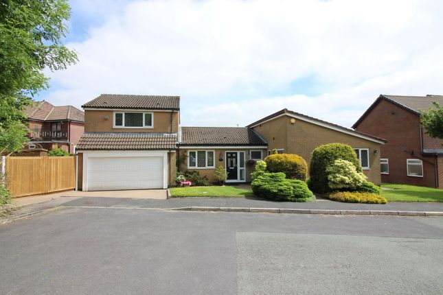 Thumbnail Detached house for sale in Whitebirk Close, Greenmount, Bury