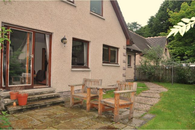 Rear Garden of The Beeches, Banchory AB31