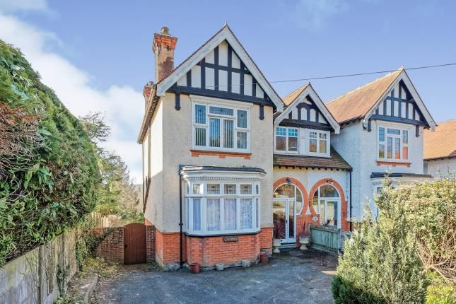 Thumbnail Semi-detached house for sale in London Road, Temple Ewell, Dover, Kent