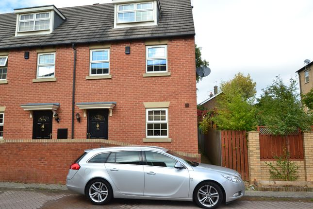 Thumbnail End terrace house to rent in Bretton Close, Brierley, Barnsley