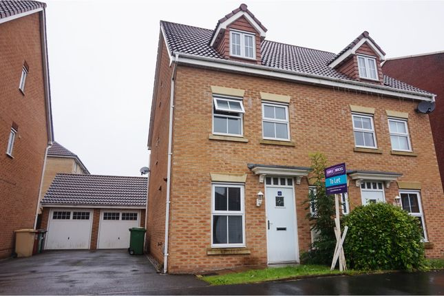 Thumbnail Semi-detached house to rent in Abbeylea Drive, Bolton