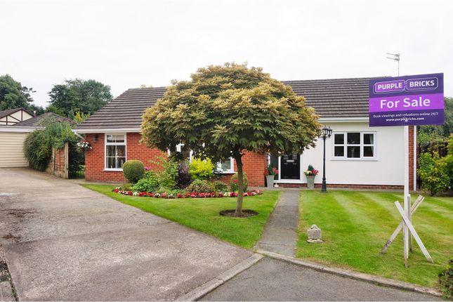 Thumbnail Detached bungalow for sale in Bank Close, Preston