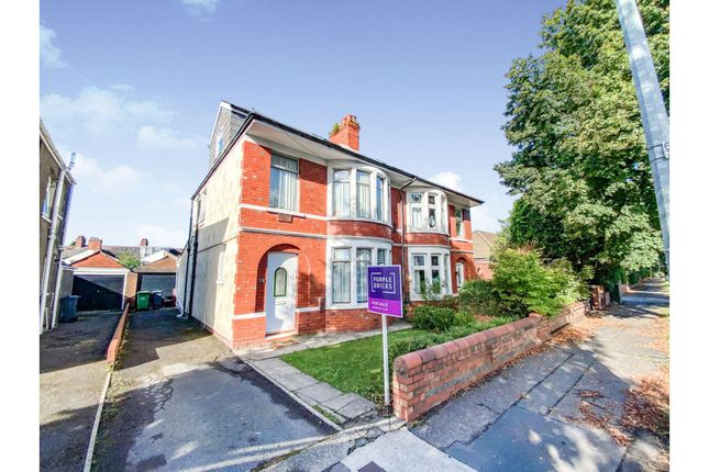 Thumbnail Semi-detached house for sale in Ash Grove, Whitchurch