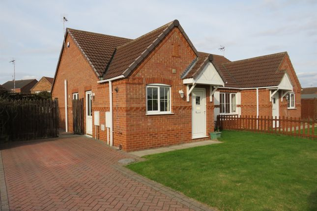 Thumbnail Semi-detached bungalow for sale in Maple Grove, Heckington, Sleaford