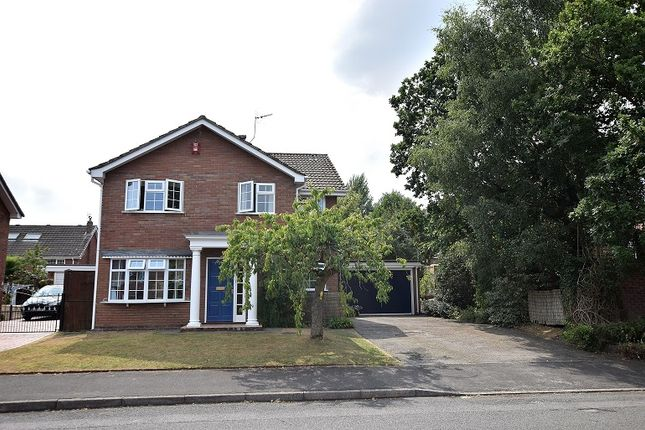 Thumbnail Detached house for sale in Oldacres Road, Trentham, Stoke On Trent