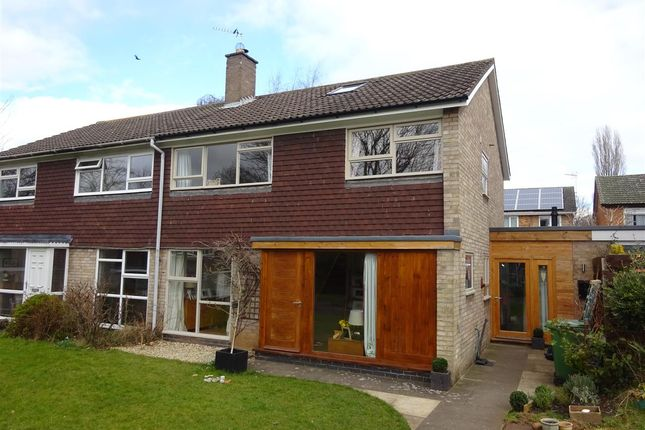 Thumbnail Semi-detached house for sale in Chalfonts, Tadcaster Road, York