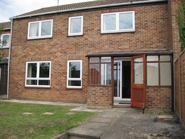 Thumbnail Terraced house to rent in Alefounder Close, Colchester