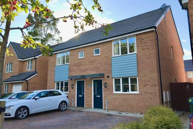 Thumbnail Semi-detached house for sale in Coppice Close, Corby