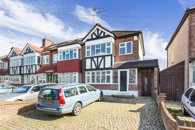 Thumbnail Semi-detached house for sale in Glastonbury Avenue, Woodford Green