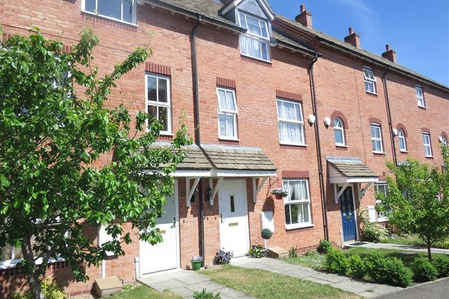 Thumbnail Terraced house for sale in Burdock Way, Desborough, Kettering