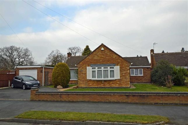 Thumbnail Detached bungalow for sale in Barry Drive, Kirby Muxloe, Leicester