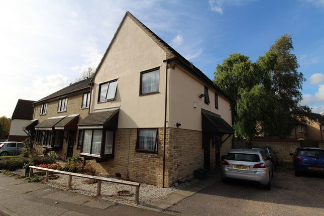 Thumbnail End terrace house for sale in Berkley Close, Highwoods, Colchester