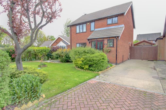 Thumbnail Detached house for sale in Clee Fields Close, Grimsby
