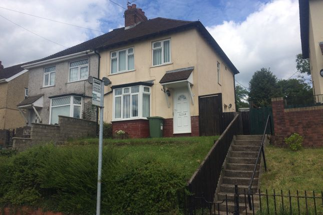 Thumbnail Semi-detached house to rent in Fernlea, Risca, Newport