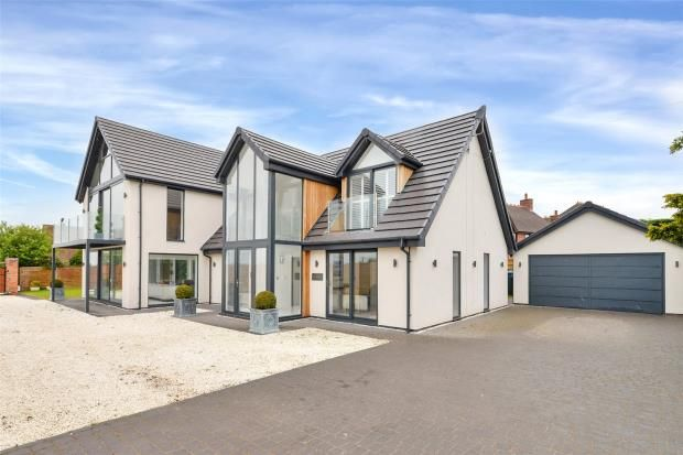 Thumbnail Detached house for sale in Green Lane, Hyde Lea, Stafford