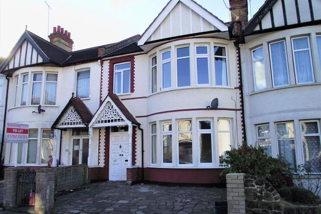 3 bed terraced house to rent in Brightwell Avenue, Westcliff-On-Sea SS0
