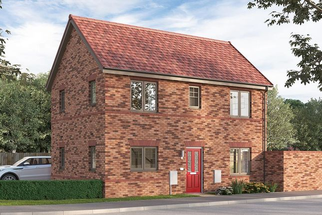 "Thumbnail Detached house for sale in ""The Stourbridge"" at Ward Road, Clipstone Village, Mansfield"
