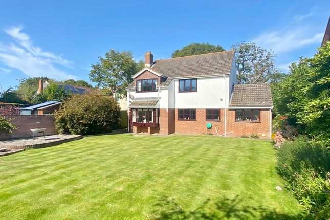 Thumbnail Detached house for sale in Ramley Road, Pennington, Lymington, Hampshire
