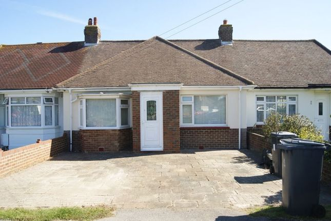 Thumbnail Terraced bungalow to rent in Central Avenue, Polegate, East Sussex