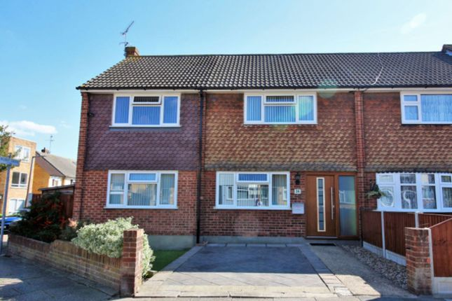 Thumbnail End terrace house for sale in Bramble Road, Leigh-On-Sea