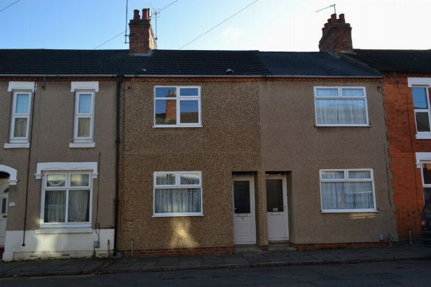 Thumbnail Terraced house to rent in Wimbledon Street, St James, Northampton