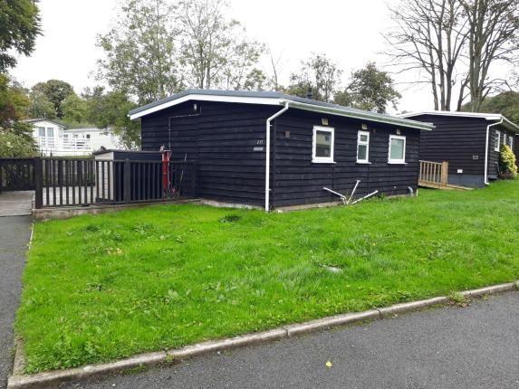 Front of Glan Gwna Holiday Park, Caeathro, Caernarfon, Gwynedd LL55
