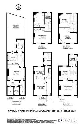 Floor Plan of Regents Park Terrace, London NW1