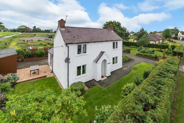 Thumbnail Detached house for sale in Station Road, Baschurch, Shrewsbury