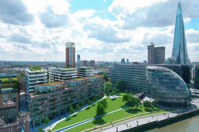 Flat for sale in Cambridge House, One Tower Bridge, Earl's Way, London Bridge, London