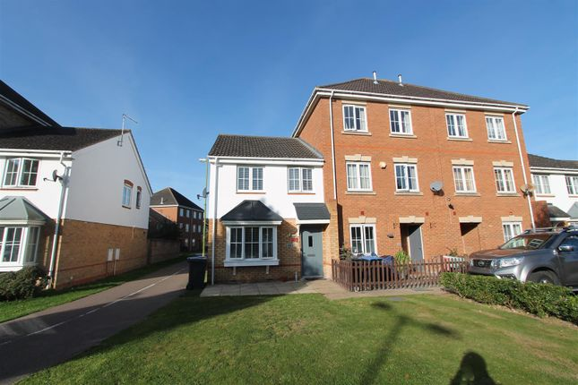 Thumbnail End terrace house for sale in Campion Road, Hatfield