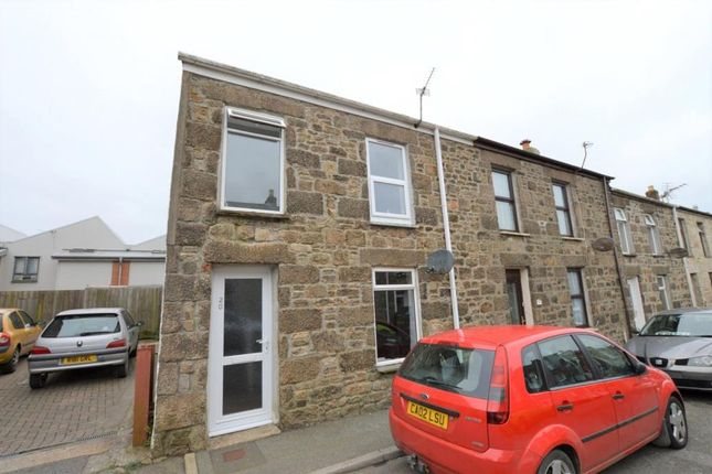 Thumbnail End terrace house to rent in West Charles Street, Camborne, Cornwall