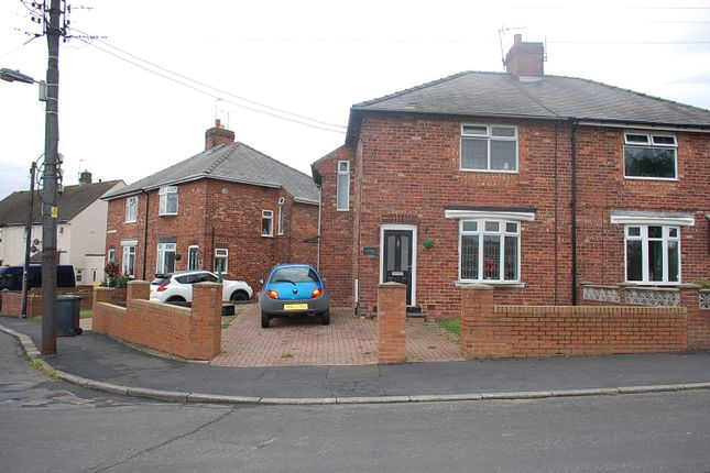 Thumbnail Semi-detached house for sale in Woodland Crescent, Kelloe, Durham