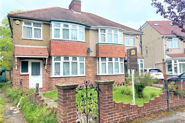 Semi-detached house for sale in Hitherbroom Road, Hayes, Middlesex