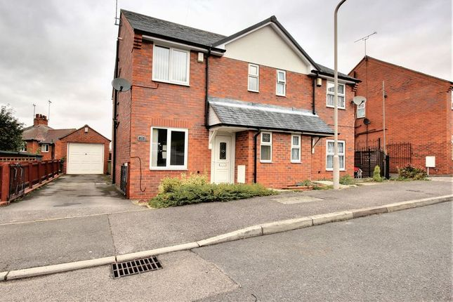 Thumbnail Semi-detached house to rent in Maid Marion Rise, Warsop, Mansfield