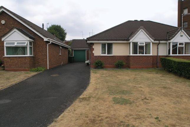 Thumbnail Semi-detached bungalow for sale in Church View Drive, Cradley Heath