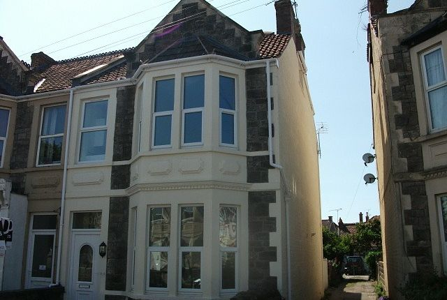 Thumbnail Maisonette to rent in Moorland Road, Weston Super Mare