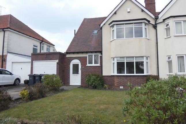 Thumbnail Semi-detached house for sale in Grange Road, Erdington, Birmingham