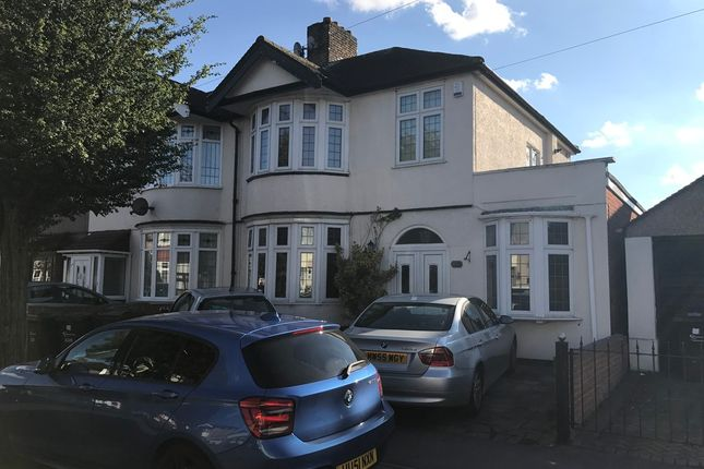 Thumbnail Semi-detached house to rent in Westrow Drive, Barking, Essex