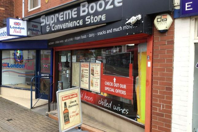 Thumbnail Retail premises for sale in The Arcade, Leicester Road, Wigston