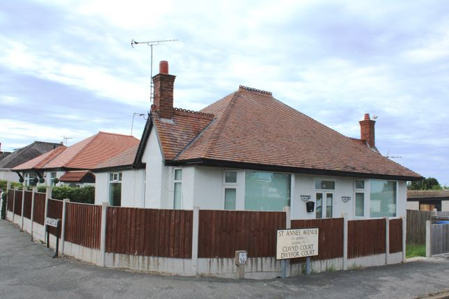Thumbnail Property for sale in St Annes Avenue, Prestatyn, Denbighshire, .