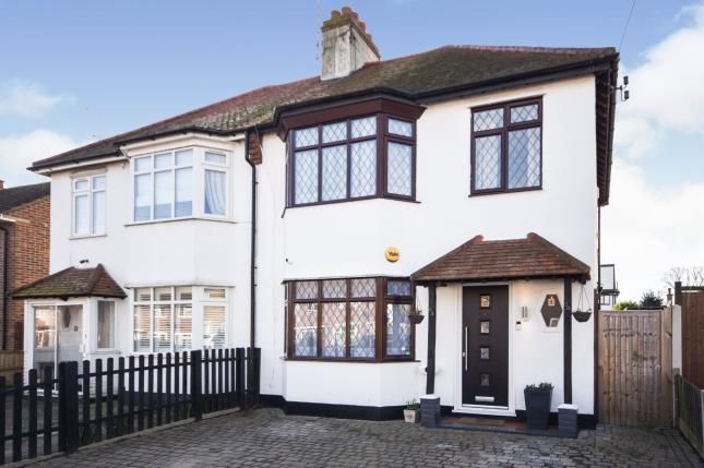 Semi-detached house for sale in Rayleigh Drive, Leigh-On-Sea